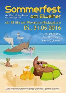 Sommerfest am Ei-Weiher @ Ei-Weiher, Physikum | Erlangen | Bayern | Deutschland